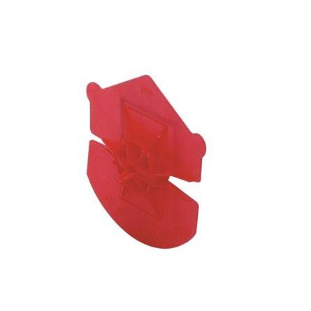 * Isolatie klemring rood / uni-clip 341300