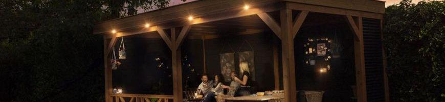 Buitenverblijf Premium - plat dak