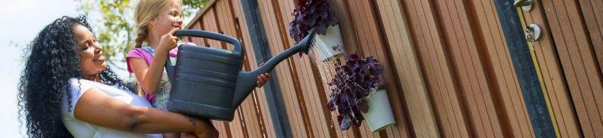 Tuinschermen en deuren - Hardhout