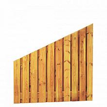 Grenen plankenscherm - Afbouw