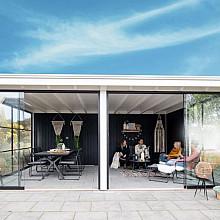 Buitenverblijf Excellent - plat dak