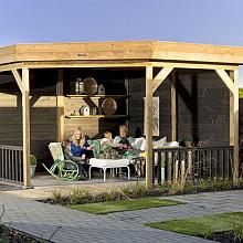 Buitenverblijf Premium Modulair- plat dak