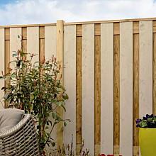 Tuinschermen en deuren - Grenen